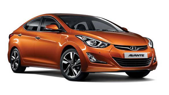 New 2014 Hyundai Elantra unveiled in South Korea, gets a minor facelift