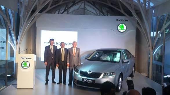 New Skoda Octavia unveiled, to go on sale in Diwali