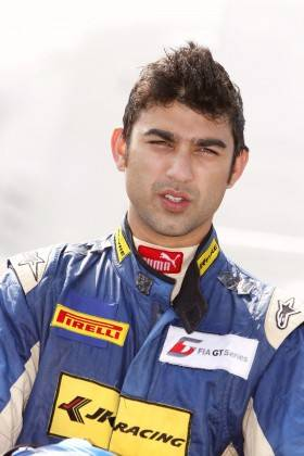 Armaan Ebrahim has his eyes firmly set on the FIA GT1 championship in 2014