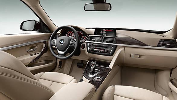 Interiors are the regular BMW fare