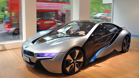 BMW i8 headed to Auto Expo 2014 in India
