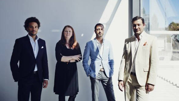 From left: Oliver Heilmer, Martina Starke, Karim Habib and Domagoj Dukec