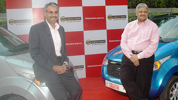 Carzonrent to offer Mahinda Reva e2o for self-drive hire