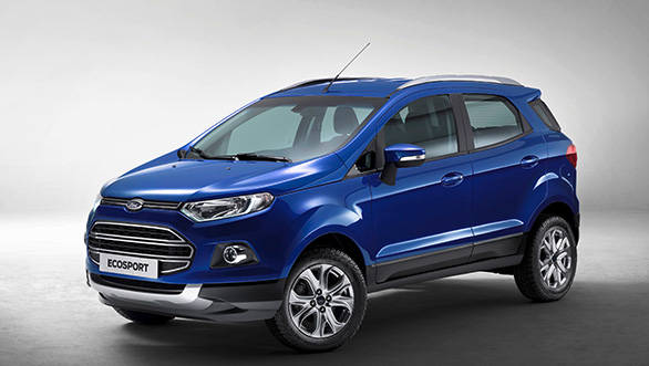 Ford EcoSport gets DRLs as option in India