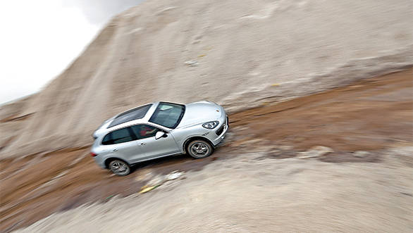 While the Cayenne felt perfectly at home on the highway it still hasn't lost its ability to get off the beaten path