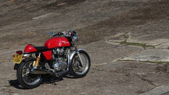 2013 Royal Enfield Continental GT First Ride