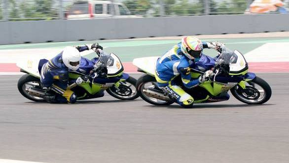 Finally! Motorcycle racing at the BIC