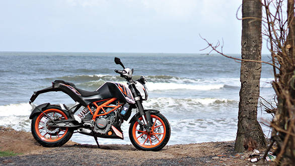 KTM 390 Duke in Goa
