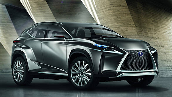 Lexus to debut the LF-NX concept at Frankfurt