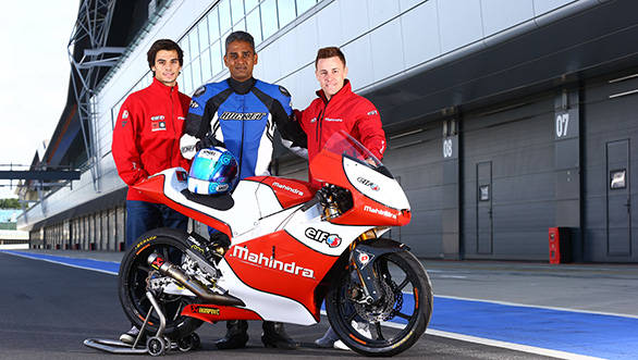 Interview with Mahindra Racing riders Miguel Oliveira and Efren Vazquez