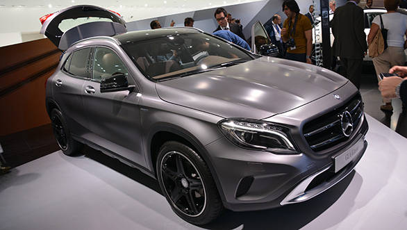 Mercedes-Benz's compact SUV has finally been unveiled in production form at the 2013 Frankfurt Motor Show