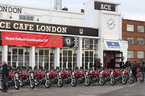 Royal Enfield Cafe Racer London