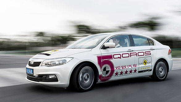 China's Qoros 3 awarded 5-star safety rating by Euro NCAP