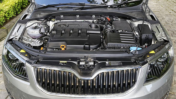 The 2.0TDI is the only engine that you can have with a six-speed manual or a six-speed DSG automatic