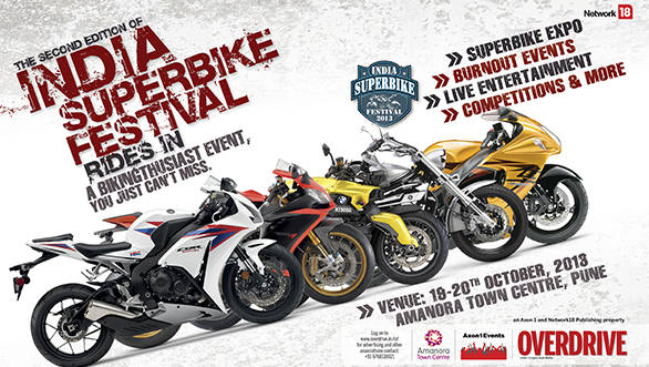 India Superbike Festival 2013 online registration begins