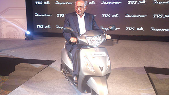 The Jupiter will be sold in the north of India, soon to be followed by a southern India launch around Diwali