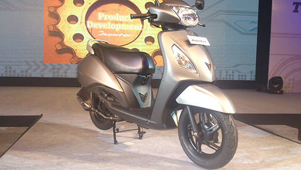 TVS Jupiter launched in India at Rs 44,200