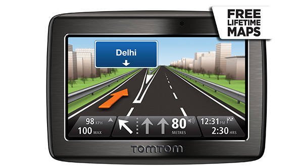 TomTom Via 120 GPS device reviewed in India - Overdrive