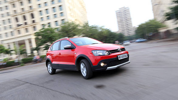 The Cross Polo is only available with the 1.2-litre three-cylinder diesel engine