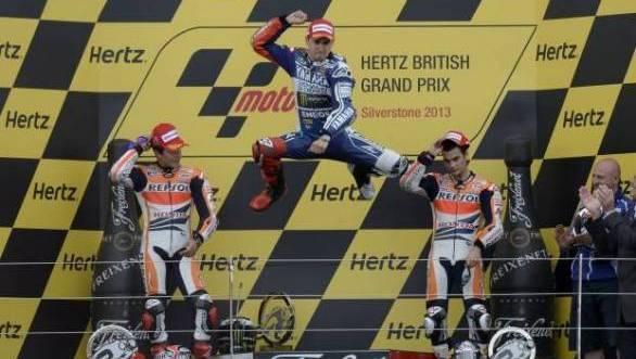 MotoGP 2013: Lorenzo wins Silverstone thriller