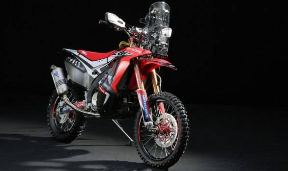 2014 Dakar: Honda unveils the new CRF450 Rally