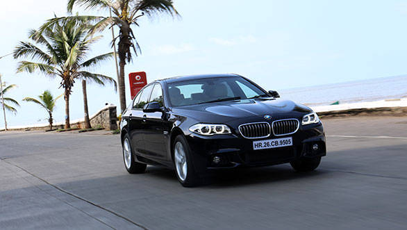 BMW D India Road Test Overdrive - Bmw 2014 5 series price