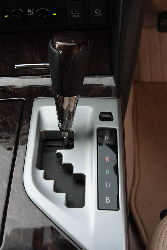 The Camry hybrid's automatic gearbox