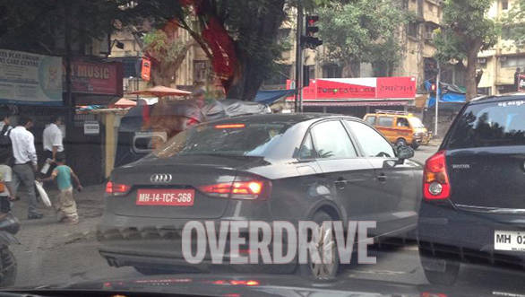 Audi A3 sedan spotted testing in India, launch in 2014