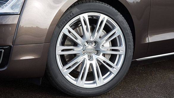 New wheel options on the 2014 A8