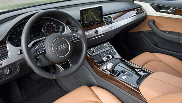 For 2014, Audi offers new leather and interior trim options