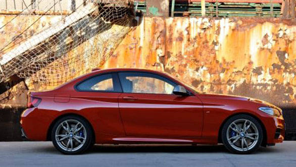 The flared wheel arches and smooth lines hint at the spirited handling that the 2 Series promises