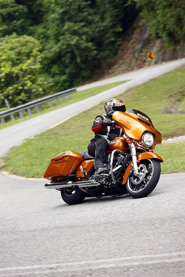 The Street Glide will be the first 'Rushmore' bike to hit Indian showrooms later this year.