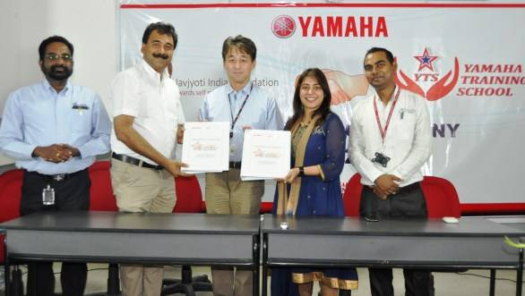 Yamaha to offer skill training and placement programme for underprivileged youth in India