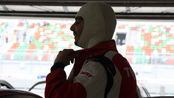 That's me getting ready for my final EMR race – it's been a huge learning experience
