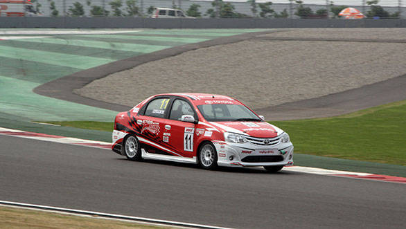 EMR 2013 at the Buddh International Circuit, Noida