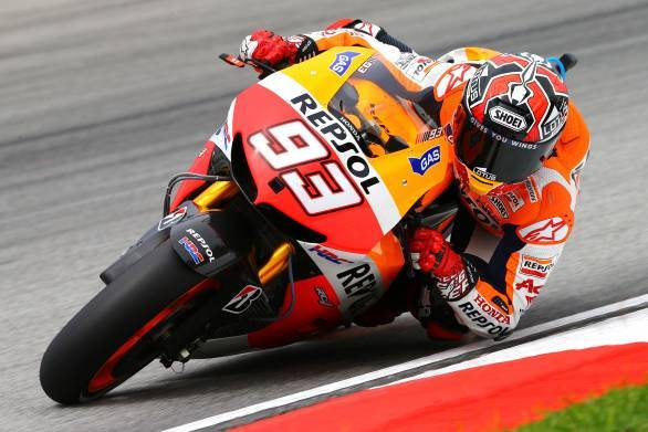 MotoGP: Marquez on pole at Sepang