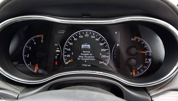 Smart dials are a combination of analogue windows on the sides  and a digital display in the middle