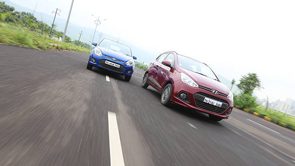 The Figo is such fun that you forget the power deficit on a winding road