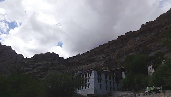 If one must engage in theosophical debates, location and catering is paramount. Buddhism has this figured out at Hemis monastery