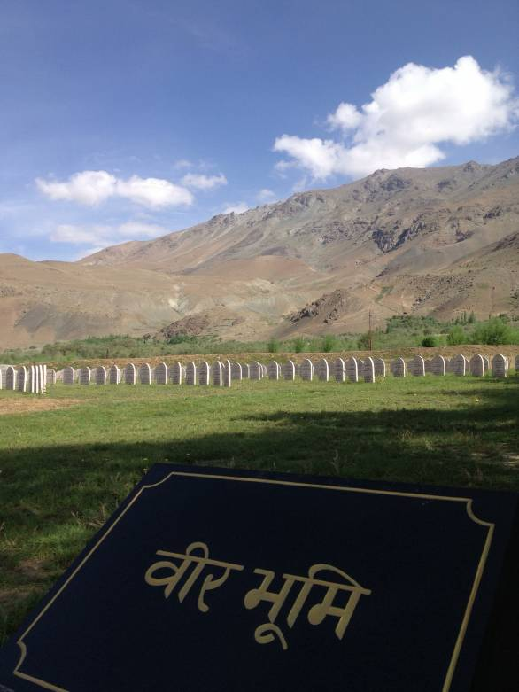 Pay your respects to the fallen at Kargil War Memorial and use the loo