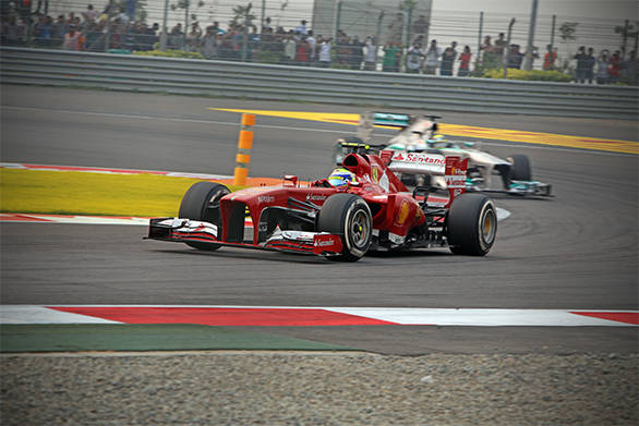 Felipe Massa drove well and missed the podium by one position