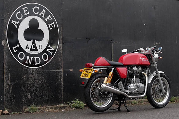 2013 Royal Enfield Continental GT - Photo Gallery