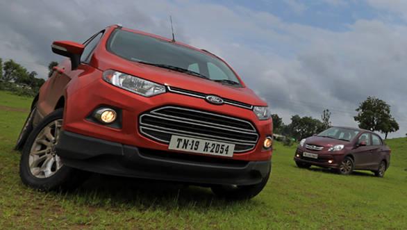 Mumbai to Kolkata Part I: Ford EcoSport Tdci vs Honda Amaze i-DTEC