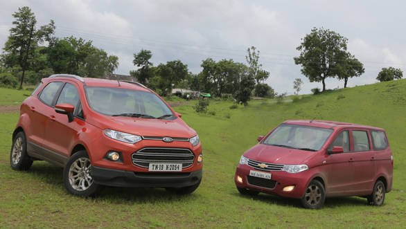 2013 Ford EcoSport TDCI vs Chevrolet Enjoy LTZ TCDI