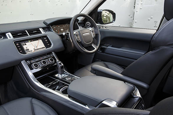 Sport interior is similiar to Range Rover and can be specced in various trim configurations.