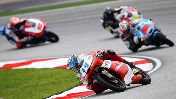 Mahindra Racing claims maiden Moto3 podium