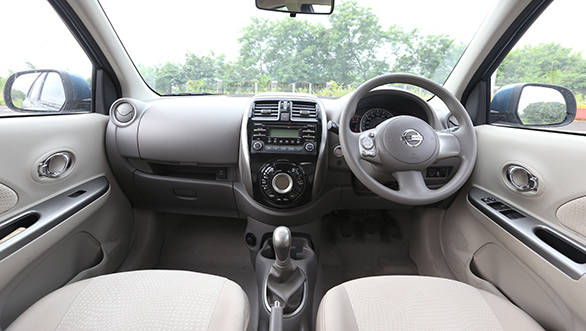 The Micra packs very similar kit levels and it even offers a reverse camera on the top-end XV P variant