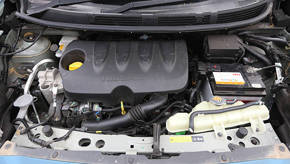 Nissan uses Renault's K9K diesel engine for the Micra, and it's in basic 64PS guise