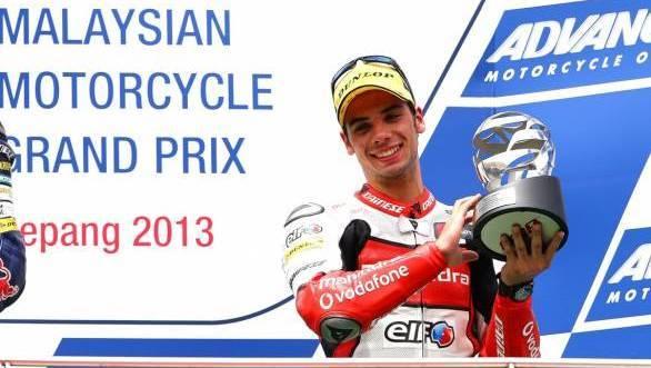 Olivera, Moto3 race, Malaysian MotoGP 2013
