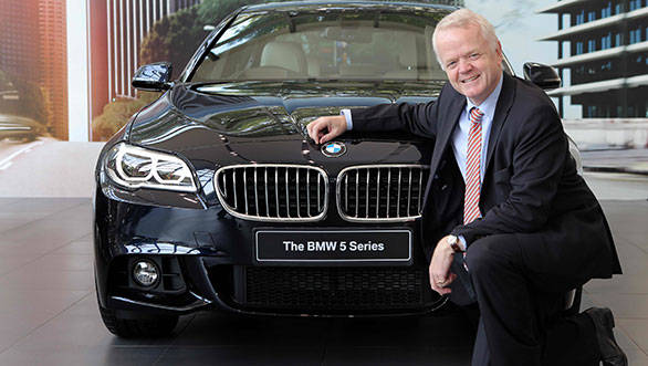 BMW Launches New Series In India At Rs Lakh Overdrive - Bmw 5 series new price